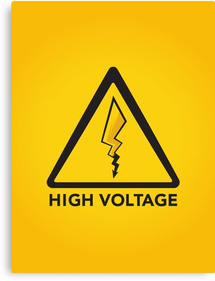High Voltage by Ian Wilding