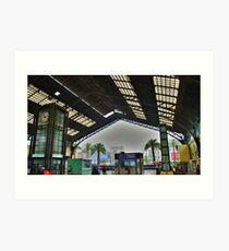Chile - Estacion Central 2 Art Print