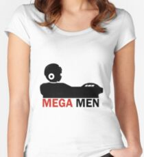 Mega Men Women's Fitted Scoop T-Shirt