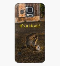 It's a Hoot! (IPhone case) Case/Skin for Samsung Galaxy