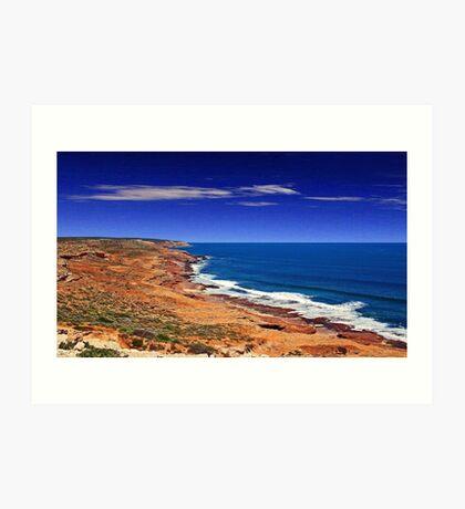 Kalbarri Coastline - Western Australia  Art Print