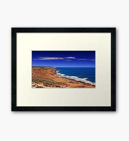 Kalbarri Coastline - Western Australia  Framed Print