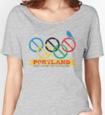 Portland Nolympics Women's Relaxed Fit T-Shirt