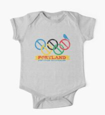 Portland Nolympics One Piece - Short Sleeve