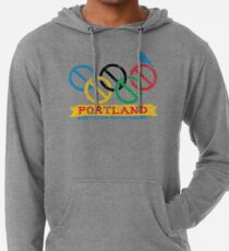 Portland Nolympics Lightweight Hoodie