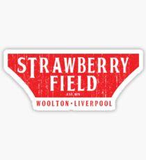 Strawberry Field Sticker