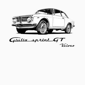 Alfa Romeo 1600 Giulia Sprint GT Veloce by aussie105