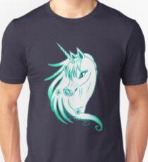 Pretty Blue Unicorn Unisex T-Shirt