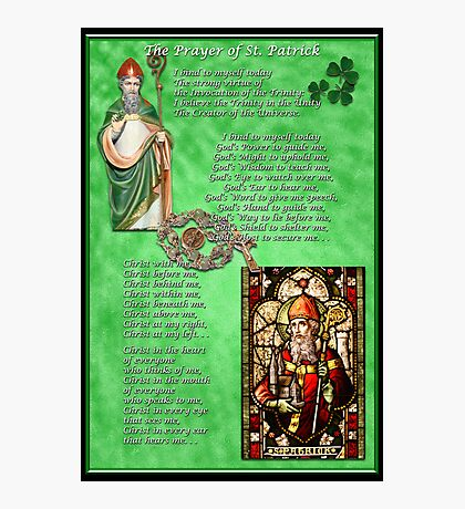 St. Patrick's Prayer Photographic Print