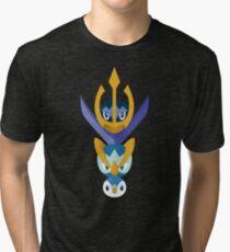 Awkward Penguin Portrait Tri-blend T-Shirt