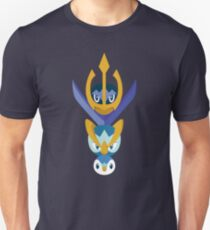 Awkward Penguin Portrait Unisex T-Shirt