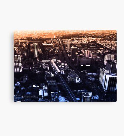 infinite metropolis 005 Canvas Print