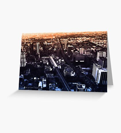 infinite metropolis 005 Greeting Card