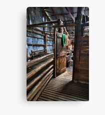 Just through here Mate Canvas Print