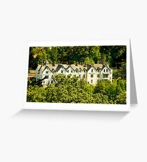 Framed By Nature, Craigellachie Hotel Greeting Card