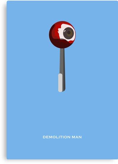 Demolition Man - Minimal Poster by konman96