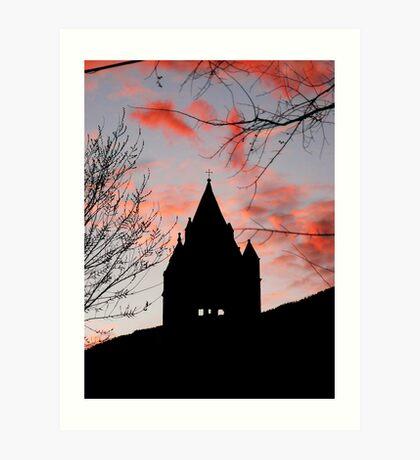 Sunset hues Art Print