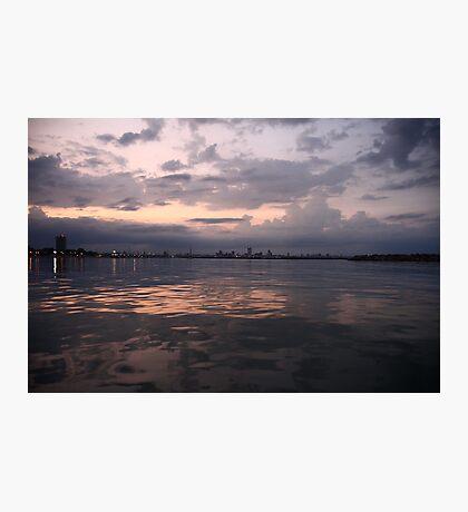 Milwaukee Horizon Cityscape  Photographic Print