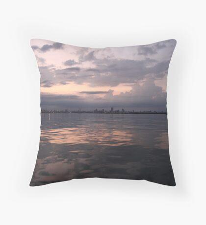 Milwaukee Horizon Cityscape  Throw Pillow