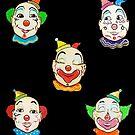NJ Boardwalk Clowns by jsalozzo