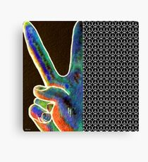Peace Sign and Symbol Canvas Print
