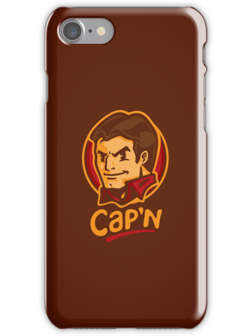 Cap'n! - IPHONE CASE by WinterArtwork