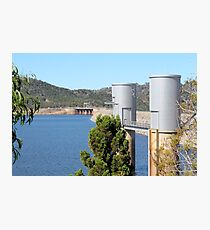 Wyangala Dam Wall Photographic Print