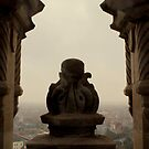 The View from the Beffroi de Calais by rsangsterkelly
