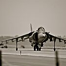 Harrier jump jet by Kingstonshots