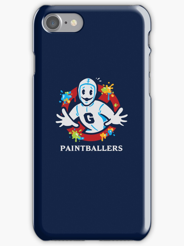 Paintballers - IPHONES CASE by WinterArtwork