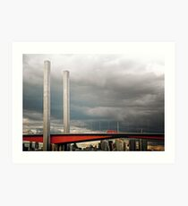 Bolte Bridge Art Print