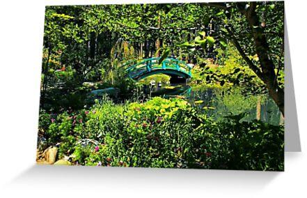 A Peek into the Garden by Barbara  Brown