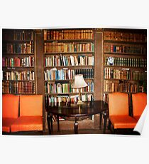 Have a seat and Read a book Poster
