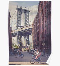 Bike Ride in Dumbo Poster