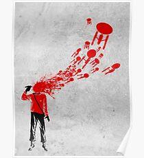 Trekkies in the Attic (spray version) Poster