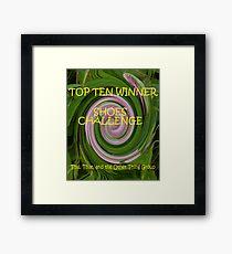 Shoes - Top Ten Winner Banner Framed Print