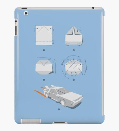 Origami DeLorean iPad Case/Skin
