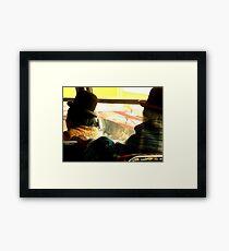 Old Ladies - La Paz Framed Print