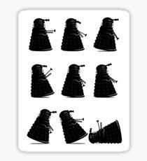 Ministry of Dalek Silly Walks Sticker