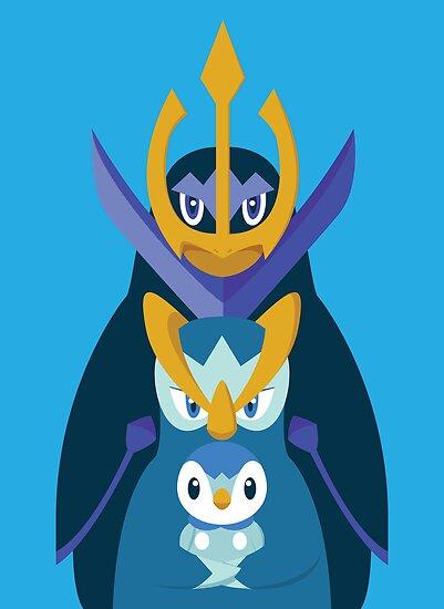 Awkward Penguin Portrait by gallantdesigns