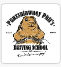 Punxsutawney Phil's Driving School Sticker