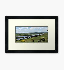 Landscape view of Lake Carcoar Framed Print