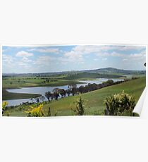 Landscape view of Lake Carcoar Poster