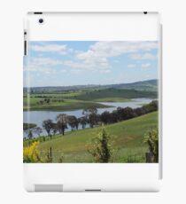 Landscape view of Lake Carcoar iPad Case/Skin