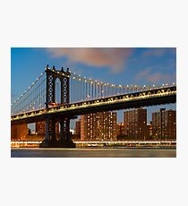 Manhattan Bridge Photographic Print