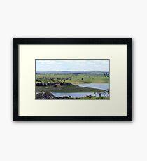 Carcoar Lake Landscape Framed Print