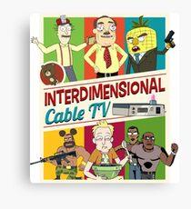 Interdimensional Cable TV Canvas Print