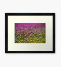 7 ★★★★★ . Frühling in den Alpen . The Flowers of the Alps . The Dachstein Mountains . Austria. Doktor Faustus. Favorites: 3 Views: 554 . Danke ! Framed Print