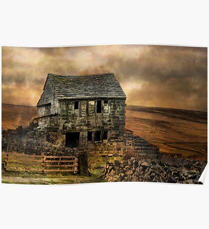 The deserted cottage ! Poster