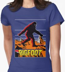 Bigfoot Women's Fitted T-Shirt